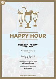 Happy Hour Bar in Shoreditch, London - Golden Bee