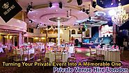 Dedicated To Turning Your Private Event Into A Memorable One