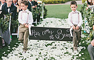 How to Involve Kids in your Wedding | A Web Not to Miss