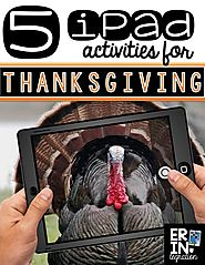iPad Activities for Thanksgiving - Erintegration