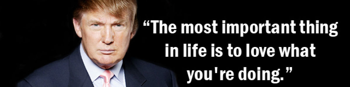 Headline for Top 10 Rules For Success by President Donald Trump's
