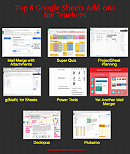 Top Educational Google Sheets Add-ons of 2016
