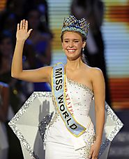 Miss World 2010-Alexandria Mills