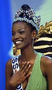 Miss World 2001-Agbani Darego