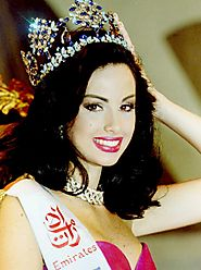 Miss World 1995(Jacqueline Aguilera of Venezuela)