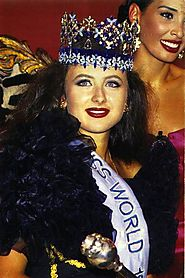 Miss World 1992(Julia Kourotchkina)