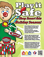 December is National Safe Toys and Gifts Month
