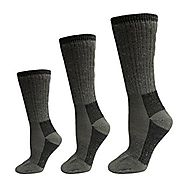 Gilbin Merino Wool Blend Socks, 3 Pairs