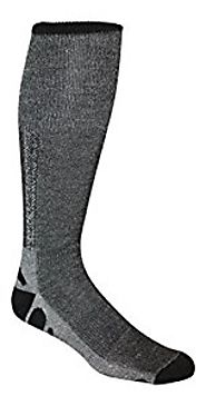 Merino Wool Tech Thin Ski and Hiking Socks (Pack of 3) - Made in USA