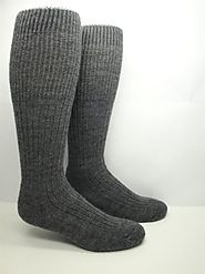 Merino Wool Blend Boot Socks