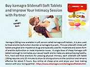 Cheap Kamagra Soft Tablets Now Increase Your Intimacy Session in Bedroom