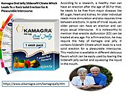 Kamagra Oral Jelly Sildenafil Available In Different Delicious Flavors