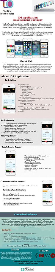 iOS Application Development Company- TecOrb Technologies