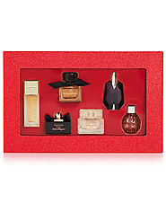 Perfume- Macy's 6-Pc. Prestige Women's Fragrance Sampler Coffret Set- $30