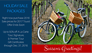 East End Bike Tours Has 50% off Gift Certificates-Buy by December 31!