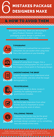 6 Mistakes Package Designers Make & How to Avoid Them