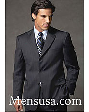 Get Mens Pinstripe Suit At Affordable Rates