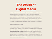 The World of Digital Media