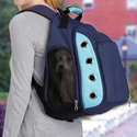 Zanies Casual Canine ZA4512 19 Ultimate Backpack Carrier, Blue