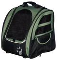Amazon.com: Pet Gear I-GO2 Traveler Roller Backpack for cats and dogs, Sage: Pet Supplies