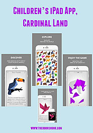 Children's iPad App, Cardinal Land