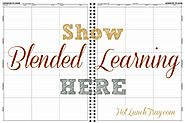 Show Blended Learning in a Lesson Plan | Hot Lunch Tray