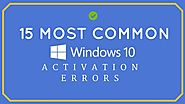 15 Most Common Windows 10 Activation Errors & How To Fix Them