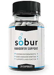 Sobur Hangover Pills - #1 Rated Hangover Cure Featuring