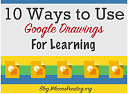 10 Ways to Use Google Drawings for Learning