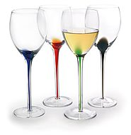 Artland Splash Wine Glass - Set of 4