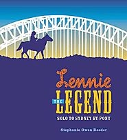 Children's Book Review, Lennie the Legend: Solo to Sydney by Pony