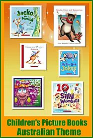 Recent Picture Books for Kids with an Australian Theme
