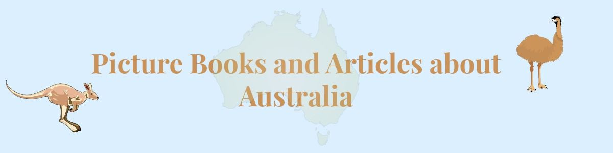 Headline for Picture Books and Educational Activities on Australia