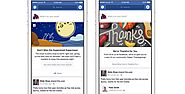 Facebook takes on Google Doodle with News Feed messages