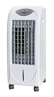 Evaporative Air Cooler with Ultrasonic Humidifier