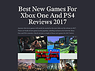 Best New Games For Xbox One And PS4 Reviews 2017