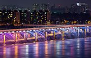 Banpo Bridge (South Korea): The Fountain Bridge