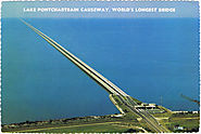 Lake Pontchartrain Causeway, Louisiana, US
