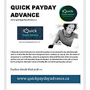 Quick Cash Advance Are Very Convenient Online Method To Solve Your Financial Evils