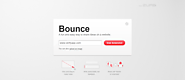 Bounce - una forma divertida de compartir ideas y páginas Web.