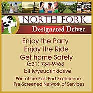 You Drink, They Drive! Enjoy a SAFE New Year's Eve with North Fork Designated Driver