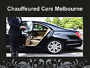 Hire Chauffeured Cars Melbourne for home, office, hotel, or any other place