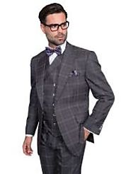 Enhance Your Personality With Plaid Double Breasted Suit