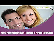 Herbal Premature Ejaculation Treatment To Perform Better In Bed