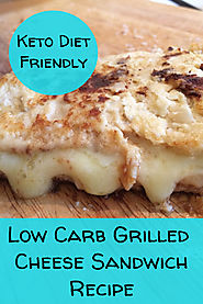 Low Carb Grilled Cheese Sandwich Recipes - Retired to Thrive