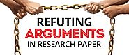 Refuting Arguments in Research Paper