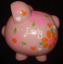 Personalized Piggy Banks for Girls