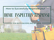 Negotiating Your Home Inspection Response | The Madrona Group