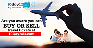 Start Selling Air Tickets At 10dayads