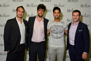 Washington Nationals Pitcher Gio Gonzalez Celebrates Birthday at Huxley DC Club